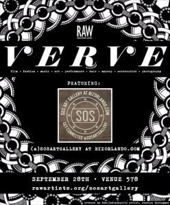 SOSArtGallery at BizOrlando.com-RAW-Orlando presents VERVE